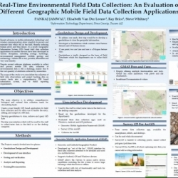 Real-Time Environmental Field Data Collection: An Evaluation of      Different  Geographic Mobile Field Data Collection Applications