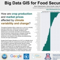 Big Data GIS for Food Security in Southern Africa