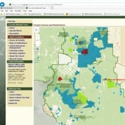 Forest Order Web Map, USFS Southwestern Region