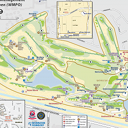 Waste Management Phoenix Open 2020 Dispatch Map