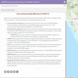 ADES Community Service Provider Search