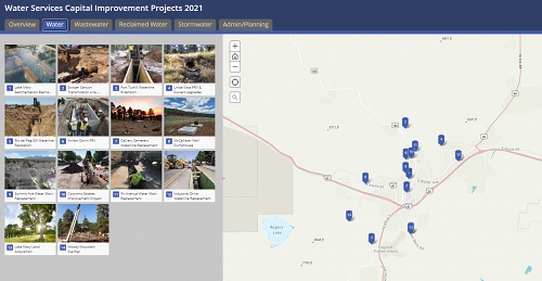 Flagstaff Water Services Capital Improvement Projects