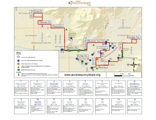 Using GIS to improve transportation access to critical services in Sunnyslope