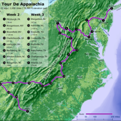 Tour De Appalachia: Bike the East Coast!